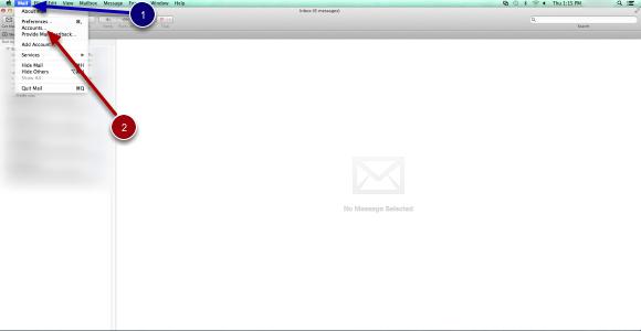 Open Mac Mail