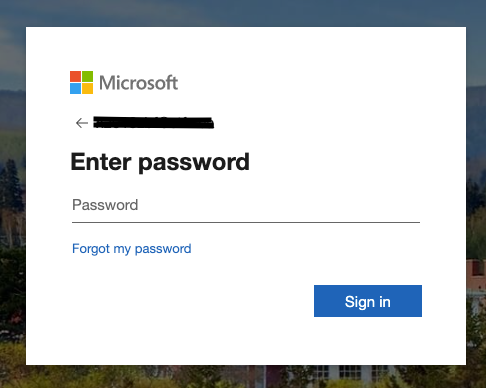 Enter Password Visualization